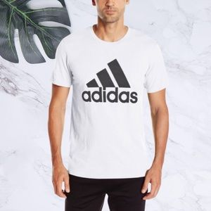 Adidas Mens Badge of Sport Graphic Tee Large NWT